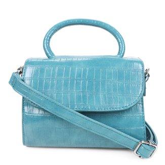 Bolsa Hering Mini Bag Croco Feminina