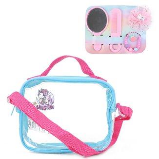 Bolsa Infantil Clio C/ Kit Beleza Feminina