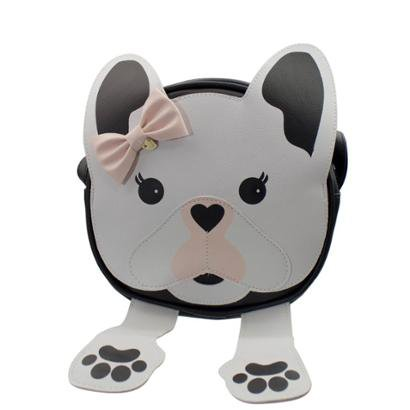 Bolsa Infantil Pampili Bulldog Tiracolo Feminina