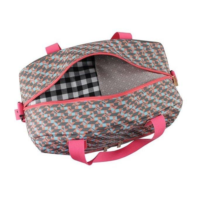Viagem Cinza e Rosa De Design Bolsa Bolsa Jacki Jacki XHxqwRPf1