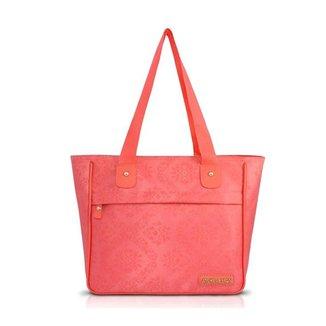 Bolsa Jacki Design Shopper Damasco Feminina