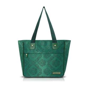 Bolsa Jacki Design Shopper Damasco