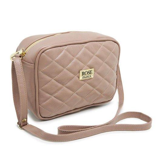 Bolsa Jna Shoes Couro Top Feminina - Rosa