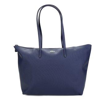 Bolsa Lacoste Shopper Sportswear Concept Vertical Zíper Feminina