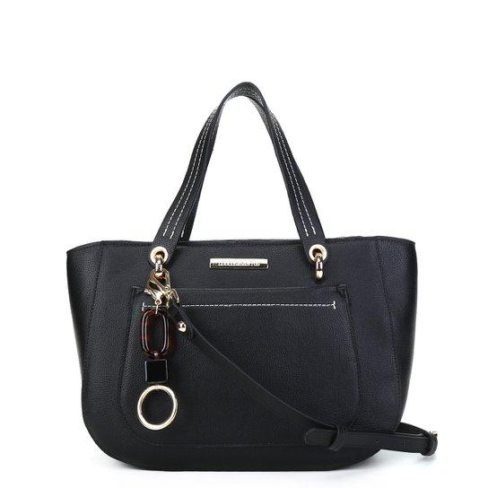Bolsa Loucos&Santos Floter Soft Charm Bag Feminina - Preto