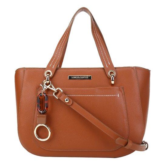 Bolsa Loucos&Santos Floter Soft Charm Bag Feminina - Caramelo