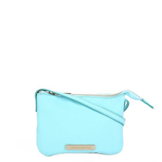 Bolsa Loucos & Santos Mini Bag Básica Plaquinha Feminina - Verde