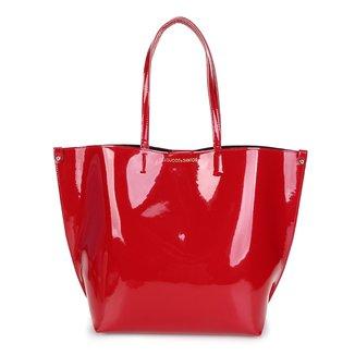 Bolsa Loucos & Santos Shopper Verniz Soft Feminina