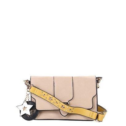 Bolsa Luxcel Flap Wonder Woman Feminina-Feminino
