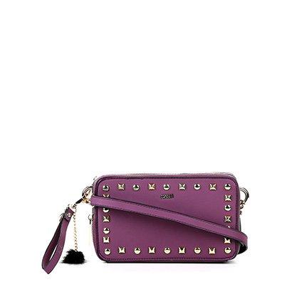 Bolsa Luxcel Mini Bag Apliques Feminina-Feminino
