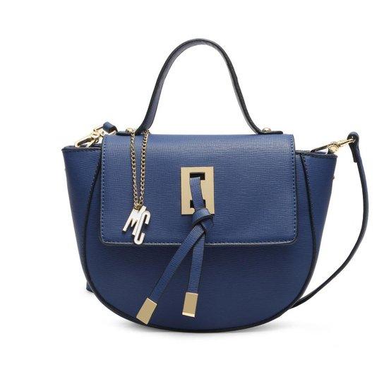 Bolsa Macadamia Pequena Transversal - Azul
