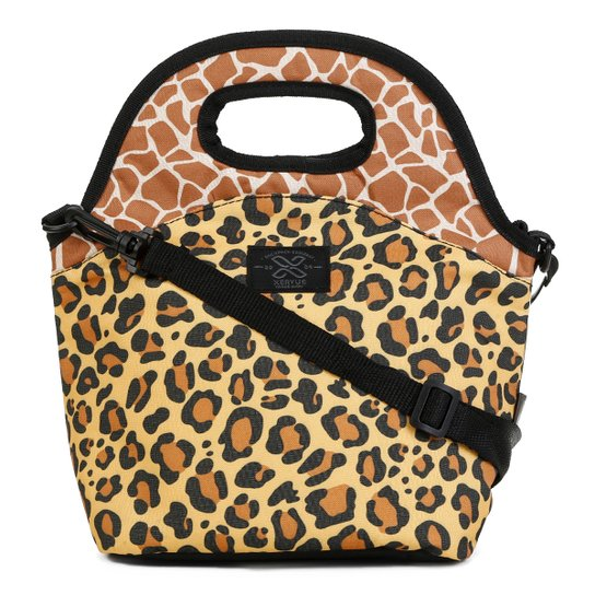 Bolsa Marmita Xeryus Animal Print Teen - Amarelo+Laranja