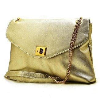 Bolsa Metalizada Hendy Bag Feminina