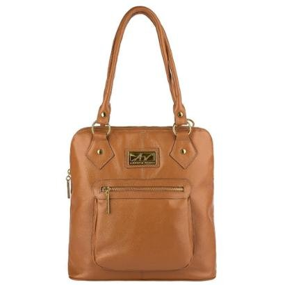 Bolsa mochila em couro Lívia Feminina