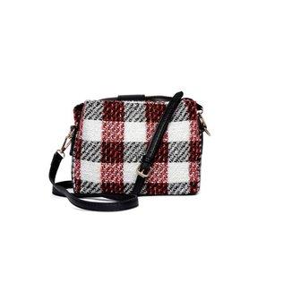 Bolsa Nice Bag Mini Bag Tweed Tiracolo Fashion Feminina