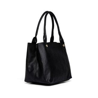 Bolsa Nice Bag Ombro Animal Print Cobra Moderna Feminina