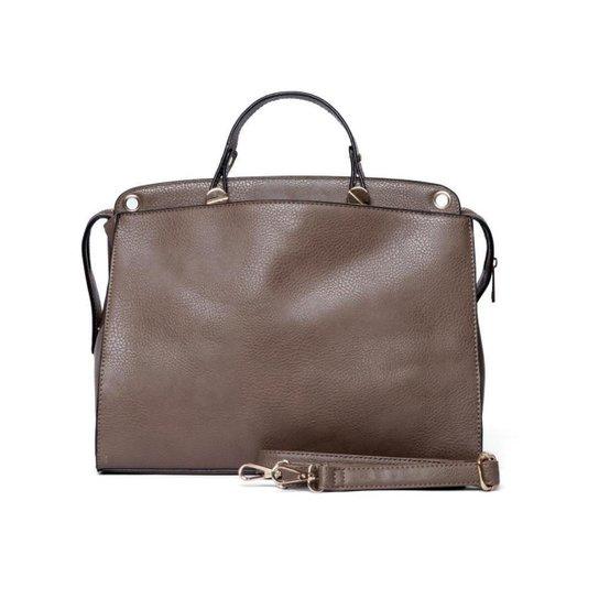 Bolsa Nice Bag Pasta Alça Transversal Feminina - Marrom