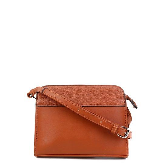 Bolsa Pagani Crossbody Mini Bag Feminina - Caramelo
