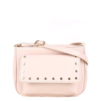 Bolsa Pagani Mini Bag Transversal Com Aplicação Feminina