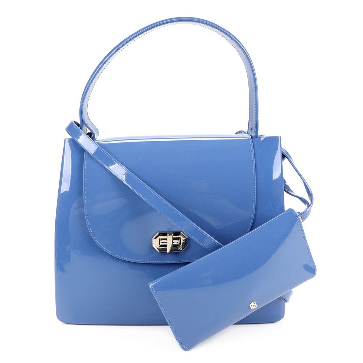 Bolsa Petite Jolie Analu Feminina - Azul