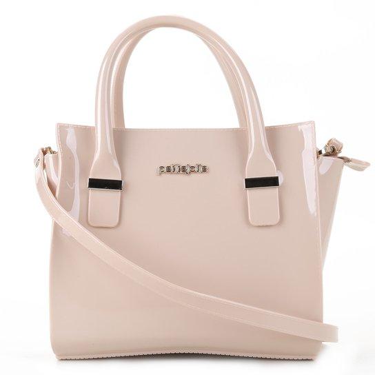 Bolsa Petite Jolie Handbag Love Feminina - Nude