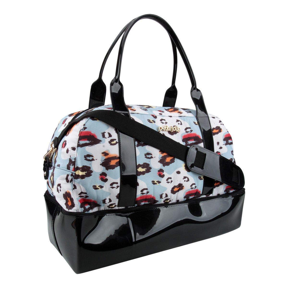 Feminina Bolsa e Petite Handbag Petite Weekend Azul Bolsa Preto Jolie wfFxFZn