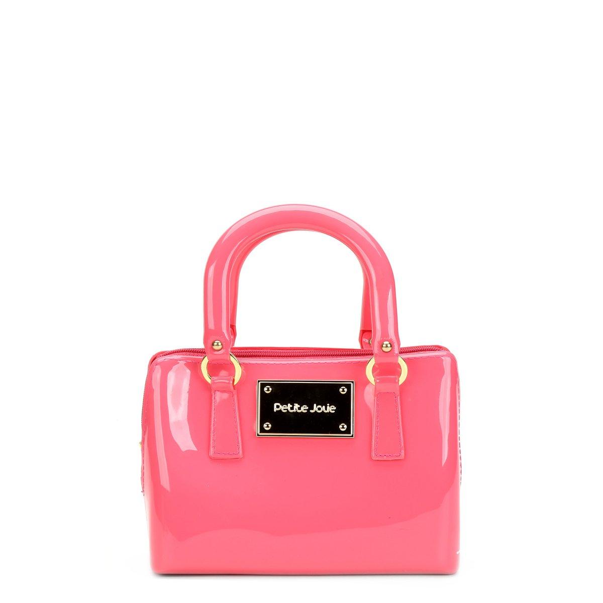 Bolsa De Mão Petite Jolie : Bolsa petite jolie mini bag al?a corrente pink