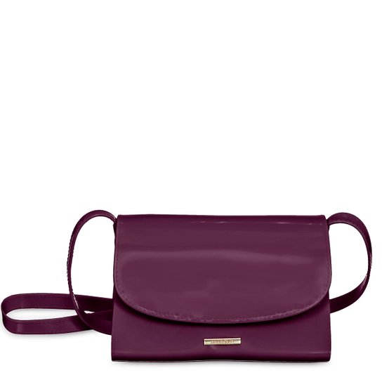 Bolsa Petite Jolie Mini Bag Alicia Feminina - Bordô