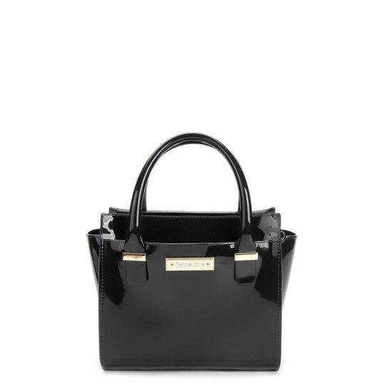 Bolsa Petite Jolie Mini Bag Logo Feminina - Preto