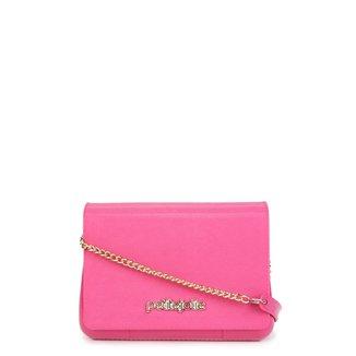 Bolsa Petite Jolie Mini Bag One Alça Corrente Feminina