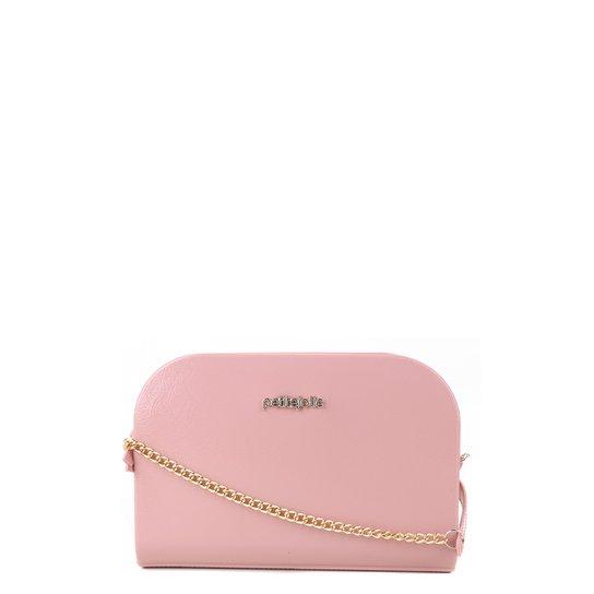 Bolsa Petite Jolie Mini Bag Pretty Alça Corrente Feminina - Rosa