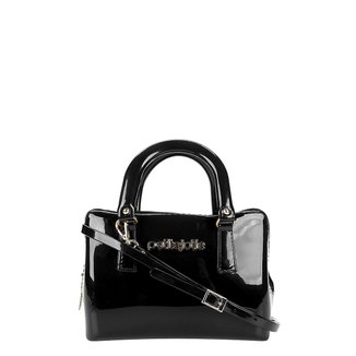 Bolsa Petite Jolie Mini Bag Verniz Alça Transversal Feminina