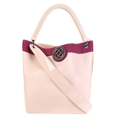 Bolsa Petite Jolie Shopper City Bag J.Lastic Ruber Feminina