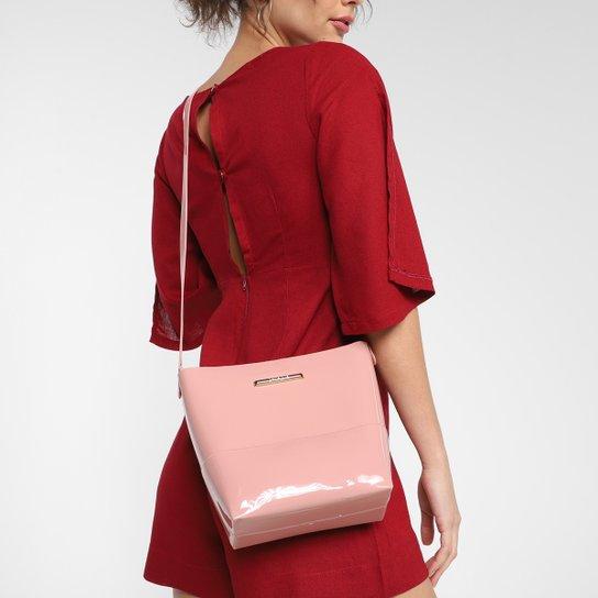 Bolsa Petite Jolie Tote Shopper Easy Feminina - Rosa