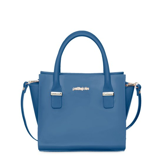 Bolsa Petite Jolie Tote Shopper Love Feminina - Azul