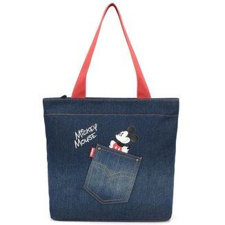 Bolsa Sacola Mickey Jeans