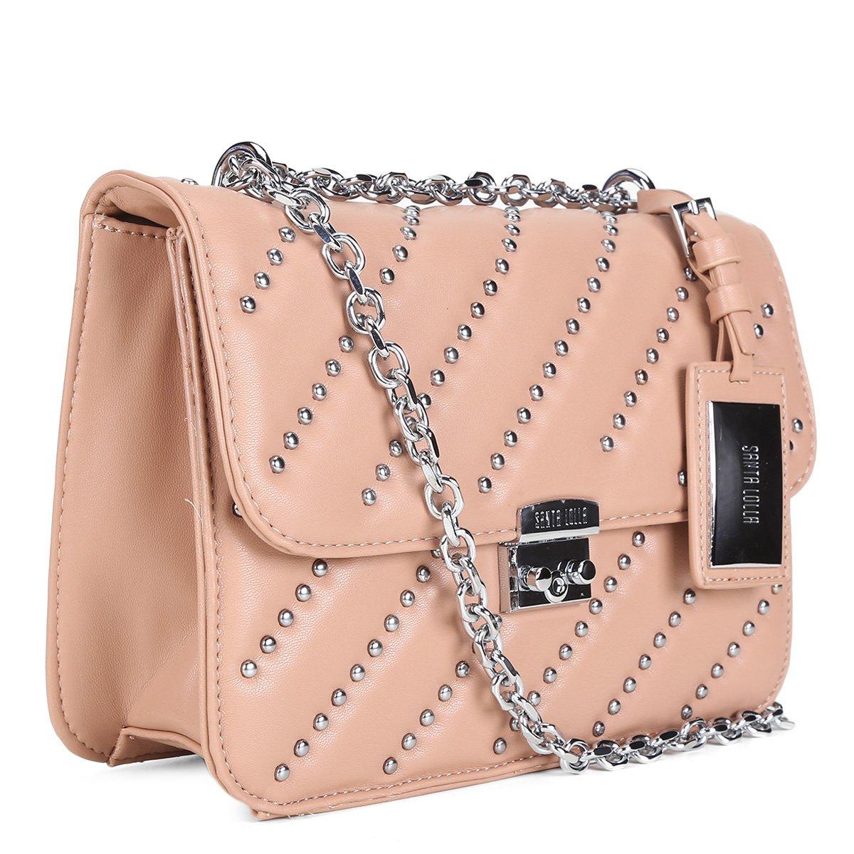 0e6576147422a Bolsa Santa Lolla Flap Apliques Feminina - Compre Agora   Zattini