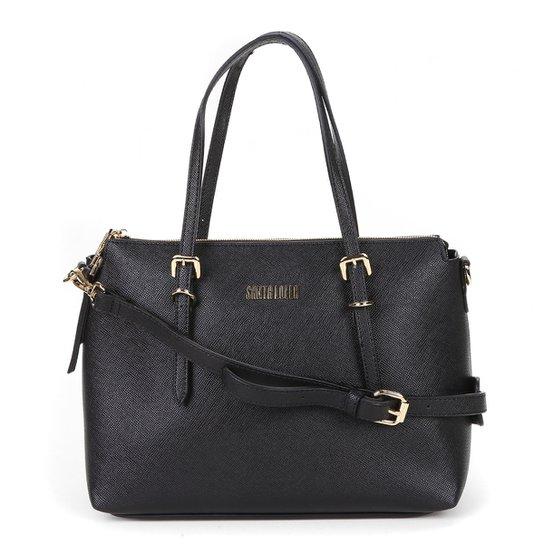 Bolsa Santa Lolla Handbag Feminina - Preto