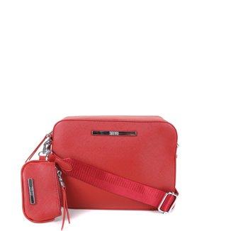 Bolsa Santa Lolla Mini Bag + Carteira e Porta Moedas Feminina