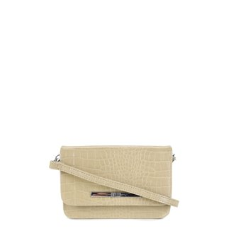 Bolsa Santa Lolla Mini Bag Croco Feminina