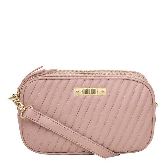Bolsa Santa Lolla Mini Bag Matelassê Feminina - Nude