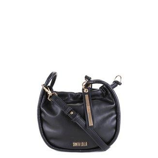Bolsa Santa Lolla Mini Bag Meia Lua Lisa Feminina