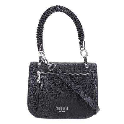 Bolsa Santa Lolla Mini Bag Risco Trança Feminina