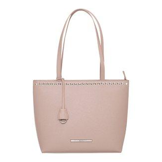 Bolsa Santa Lolla Tote Shopper Rebites Feminina