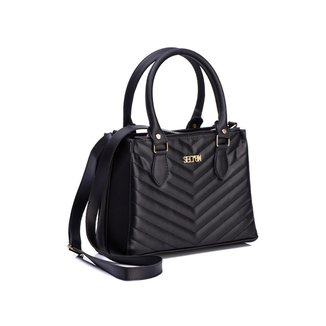 Bolsa Selten Handbag Carteira Textura Alça Transversal Feminina