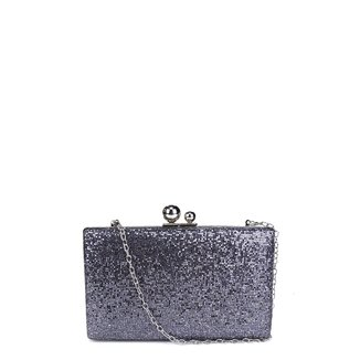 Bolsa Shoestock Clutch Metal Glam Feminina