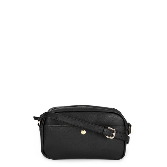 Bolsa Shoestock Mini Bag Crossbody Lily Feminina - Preto