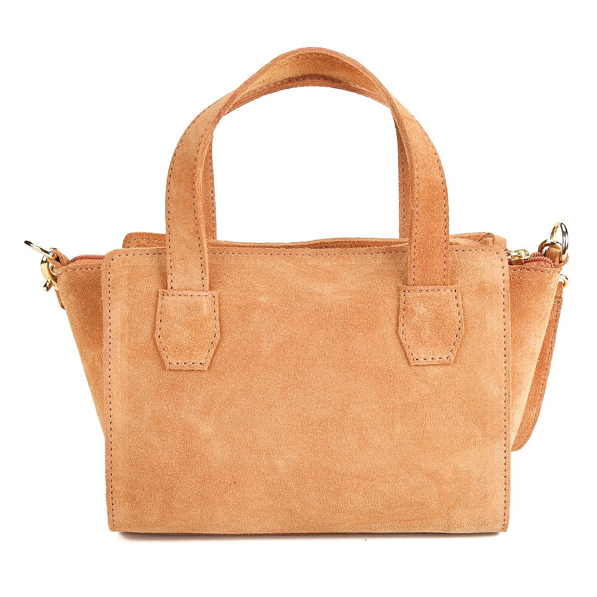 Caramelo Bolsa Camurça Bag Shoestock Bolsa Tiracolo Shoestock Mini Feminina x8OAw