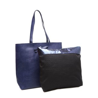 Bolsa Shoestock Shopper Dupla Face Feminina