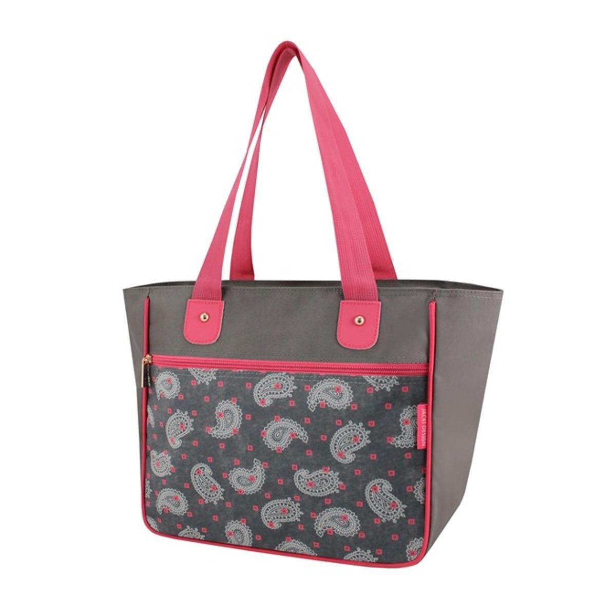 e Design Bolsa Nylon Bolsa Cinza Rosa Shopper Jacki Shopper x0BqpwSPO